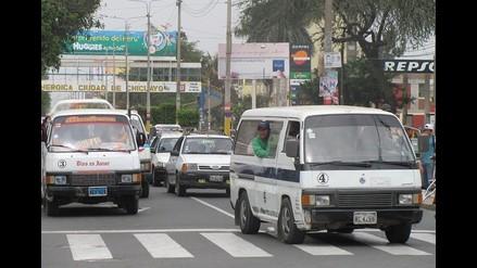 Chiclayo: Impondrán multas de S/.540 soles por no cobrar medio pasaje