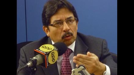 Cornejo advierte boicot en fallas ocurridas en el Tren Eléctrico