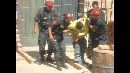 Arequipa: Detienen a 5 pandilleros que atacaron camioneta de serenazgo