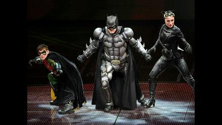 Batman y Robin llegaron a Berlín en obra musical de teatro