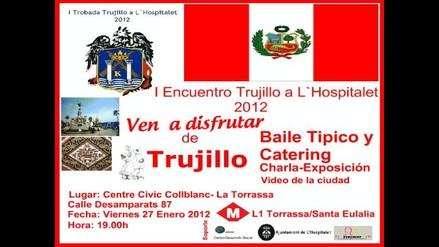 Federación de Entidades Peruanas en Cataluña celebrarán el Día de Trujillo