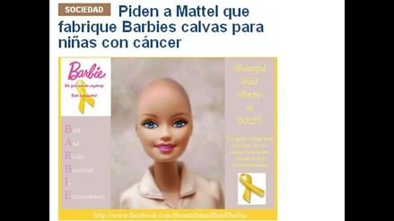 Una Barbie calva para elevar la autoestima de las niñas con cáncer