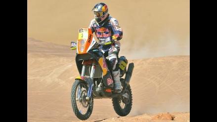 Despres gana undécima etapa del Dakar y amplía ventaja en la general