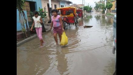 Piura: Intensas lluvias aíslan a pobladores en Morropón