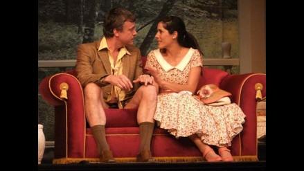 Gianella Neyra y Diego Bertie estrenan apasionada obra teatral