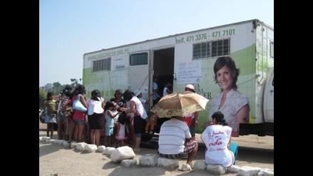Despistajes médicos gratuitos de cáncer de piel en playa San Pedro