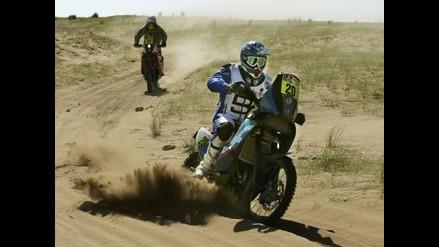 Con partida de motos y cuatrimotos se inició etapa Nasca-Pisco del Dakar