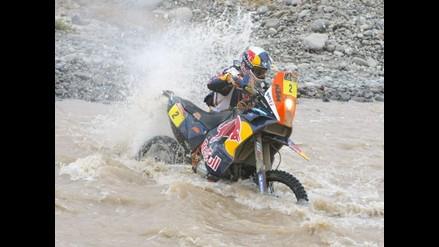Cyril Despres recupera liderato de motos en penúltima etapa del Dakar