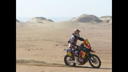 Cyril Despres en Pisco: El Dakar no se acaba hasta llegar a la meta