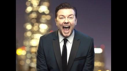 Ricky Gervais repite el plato como presentador en los Globos de Oro
