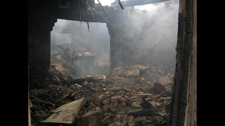 Chiclayo: Hombre muere calcinado al incendiarse su vivienda