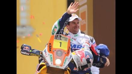 Marc Coma: Nunca una decisión me benefició en el Rally Dakar