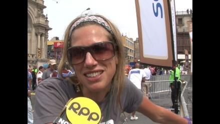 Periodista Alina Moine agradece el cariño del público peruano