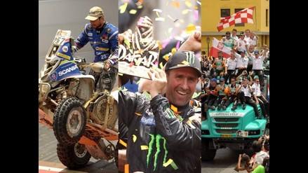 Vea las imágenes más impactantes que nos dejó el Rally Dakar 2012
