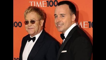 Pareja de Elton Jhon critica a Madonna por discurso en Globos de Oro