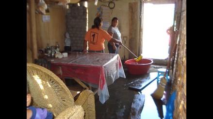 Identifican cinco puntos críticos de inundación en distritos de Chiclayo