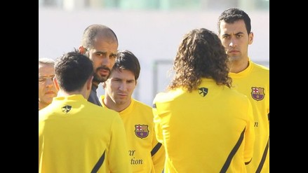 Barcelona se entrena pensando en clásico de Copa ante Real Madrid