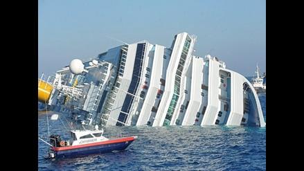 Videos grabados por aficionados durante el accidente del Costa Concordia