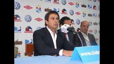 Felipe Cantuarias: Queremos que Roberto Palacios sea técnico de Cristal
