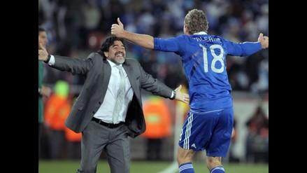 Martín Palermo confirmó que Maradona estará en su partido de despedida