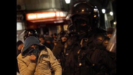 Más de cien detenidos tras protestas por recortes sociales en Rumanía