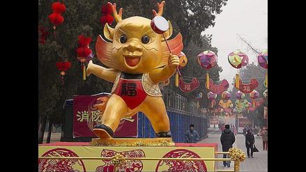 China comienza preparativos por el Año del Dragón