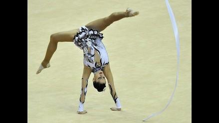 Bellas gimnastas compiten en los Preolímpicos Londres 2012