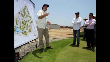 Presentan proyecto para rediseñar cancha de golf en San Bartolo