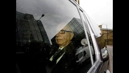 Rupert Murdoch no se muestra contento por el