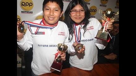 Deysi y Jorge Cori se despiden del Perú jugando partida de exhibición