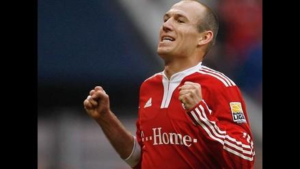 Arjen Robben quiere que el Bayern Munich le renueve contrato