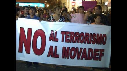 Áncash: Investigarán si nacionalistas recabaron firmas para el Movadef
