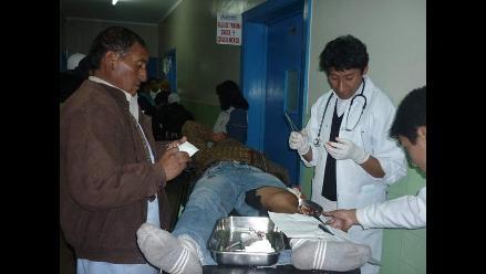 Arequipa: 15 heridos deja choque frontal entre bus y tráiler