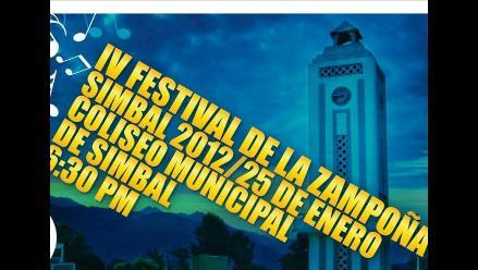 El Festival de la Zampoña tendrá sede en el distrito trujillano de Simbal
