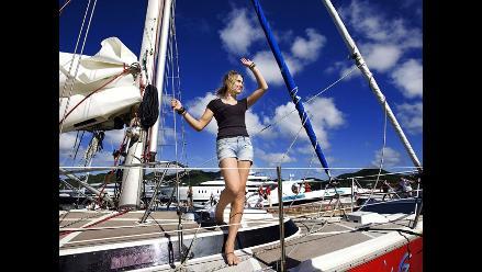 Holandesa es la persona más joven en dar la vuelta al mundo en vela