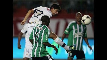 Johan Fano cayó en debut con camiseta del Atlético Nacional de Medellín