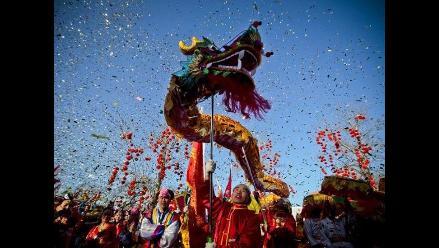 Malas energías acompañarán al Dragón en el Año Nuevo Chino