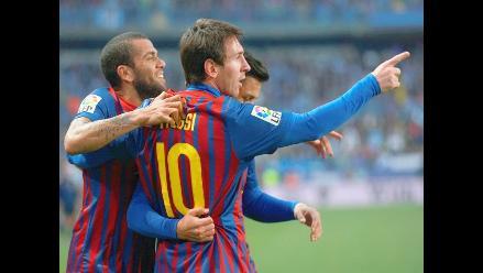 Barcelona aplastó al Málaga por 1-4 con triplete de Lionel Messi