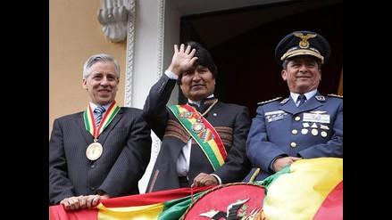 Evo Morales inicia séptimo año de gobierno en Bolivia