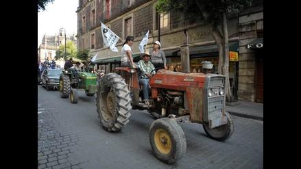 Caravana del hambre invade Ciudad de México