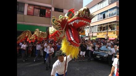 Celebración de Año Nuevo chino en Perú
