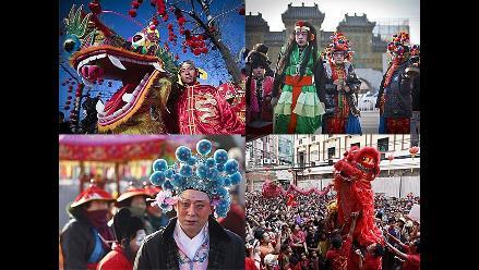 Así celebran la llegada del Año Nuevo Chino en el mundo