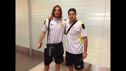 Plantel de Sport Huancayo partió a Argentina para enfrentar al Arsenal