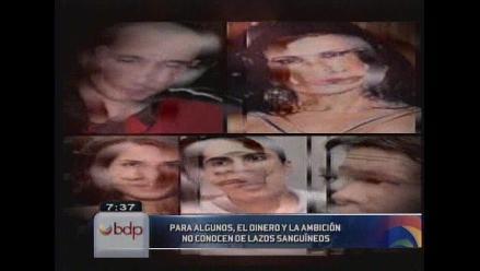 Los casos de homicidios entre familiares que impactaron Lima