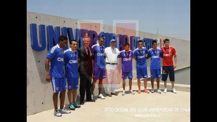 Raúl Ruidíaz anota en amistoso de la U de Chile ante Audax Italiano