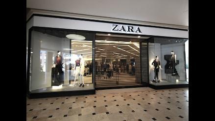 Española Zara abrió su primera tienda en el Perú