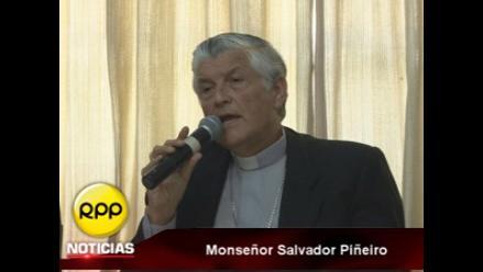 Monseñor Piñeiro pide que JNE sopese la inscripción del MOVADEF
