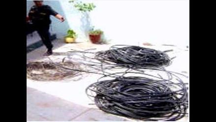 Junín: Ladrones dejan sin energía eléctrica a 150 familias en Tarma