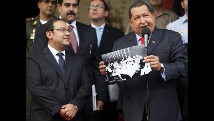 Hugo Chávez asegura que Venezuela y Perú coinciden en impulsar Unasur