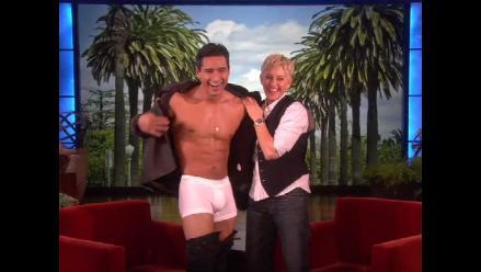 Ellen DeGeneres destapó a Mario López frente a cámaras